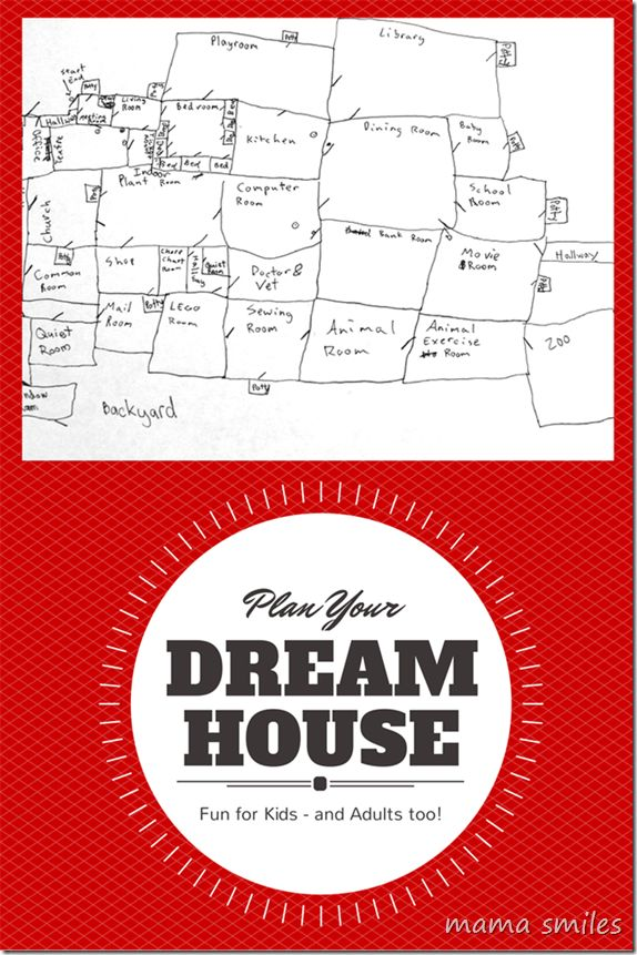 Creative Fun For Kids Design Your Dream House After School