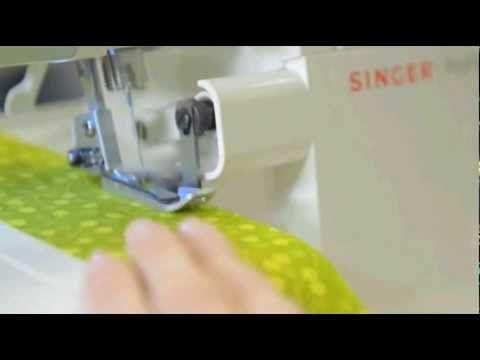 Maquina Singer overlock ProFinish 14CG754 - YouTube