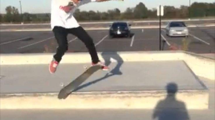 Skateboard beginner tricks with our SB-1 complete skateboard shown step ...
