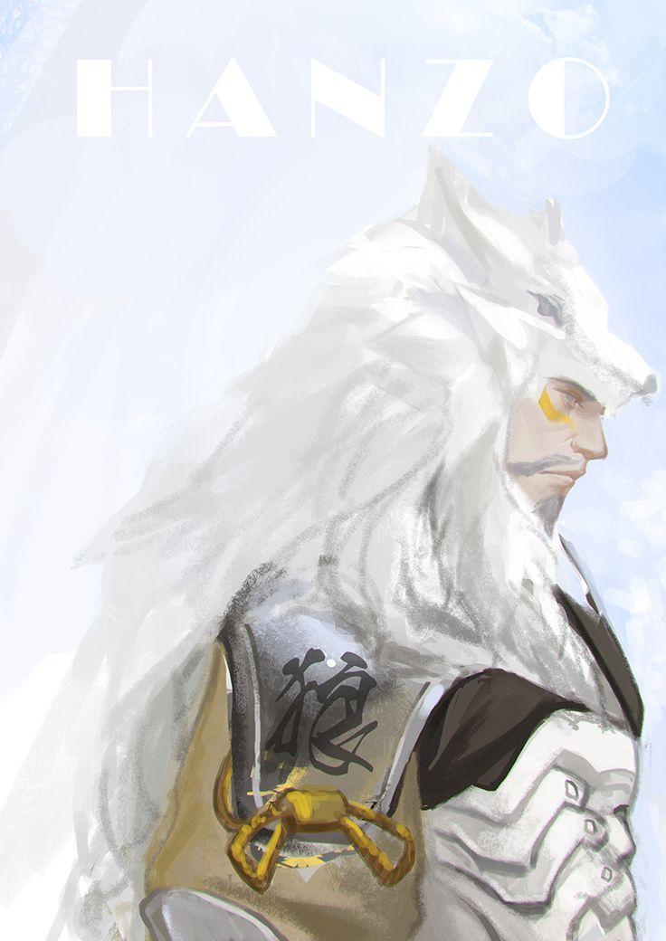 Overwatch - Hanzo Artwork