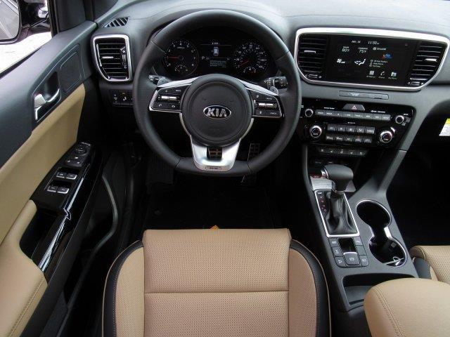 Kia Sportage 2020 White Interior En 2020