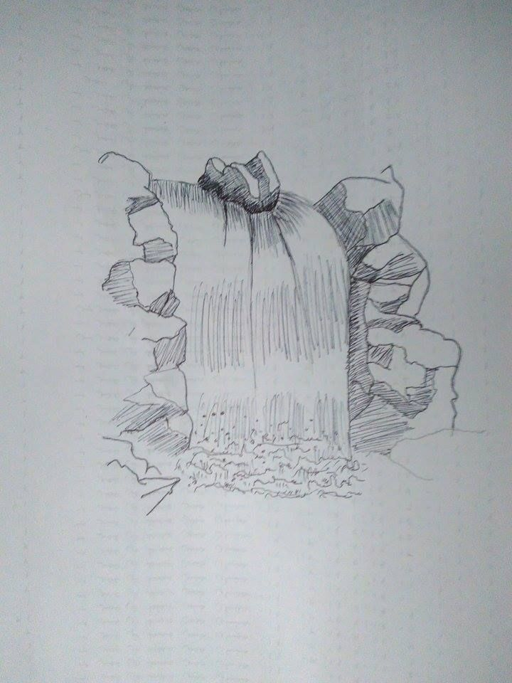 Waterfall drawing images waterfall drawing, cute love coloring pages