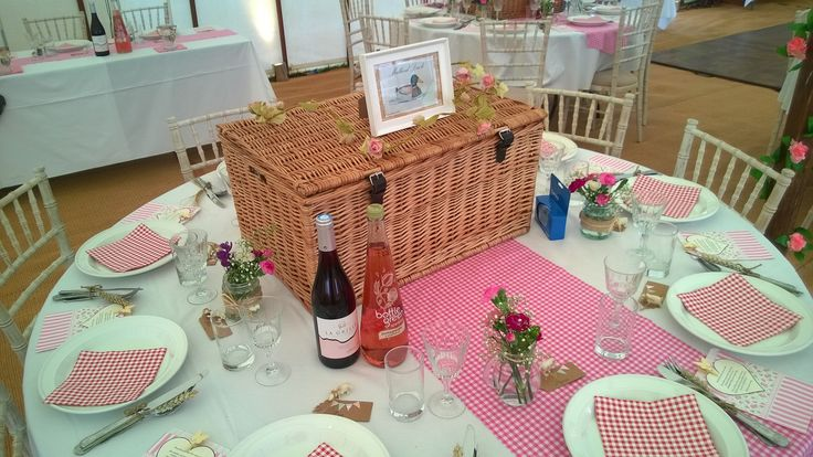 Wedding Picnic Hampers