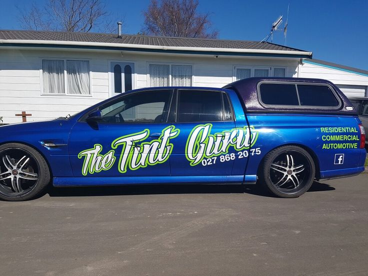 got around to getting the ute signwritten over the weekend