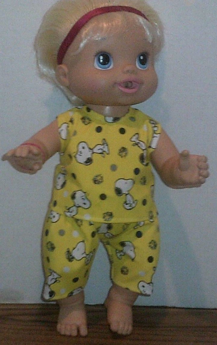 Doll clothes-fits Baby Alive//Baby Doll Girl//Boy-Pants /& Top Blue w// Anchor