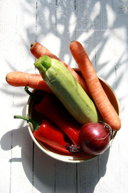 Quiche de legume si Camembert