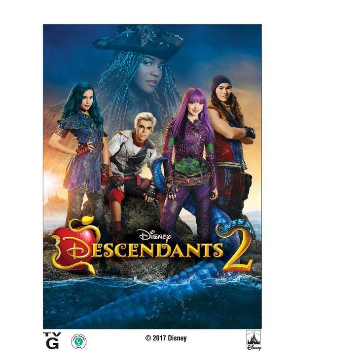 Descendants 2 (Dvd), Movies