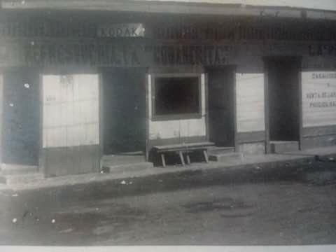 """Puerto San Jose, refresquería """"La Cobanerita""""."""