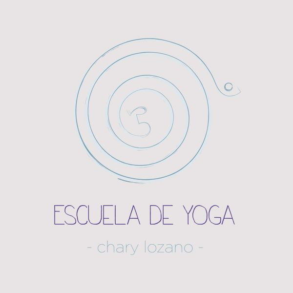 Logo para la escuela de yoga Chary Lozano