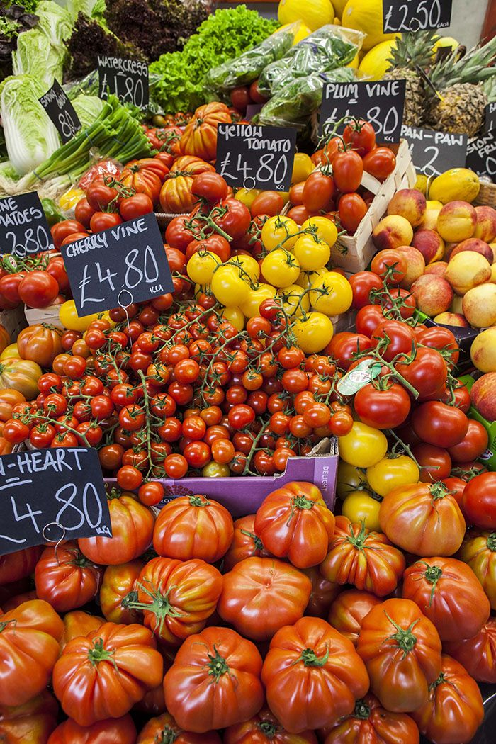 Borough Market London on DrizzleandDip.com :: all the tomatoes are mine