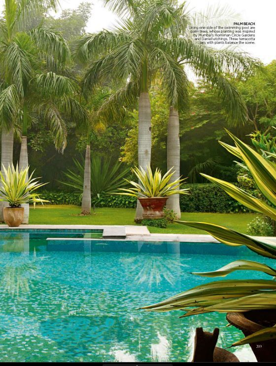 La vida es bella arquitetura e constru o pinterest for Garden near pool