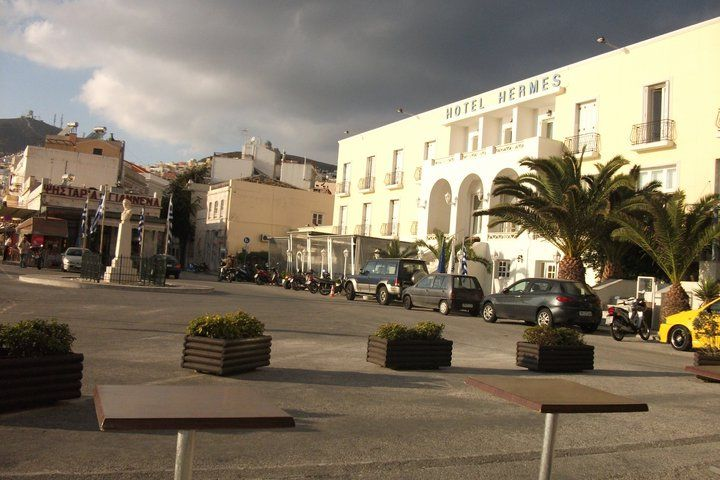Near the port
