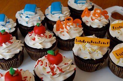 Back to school cupcakes – #Cupcakes #school