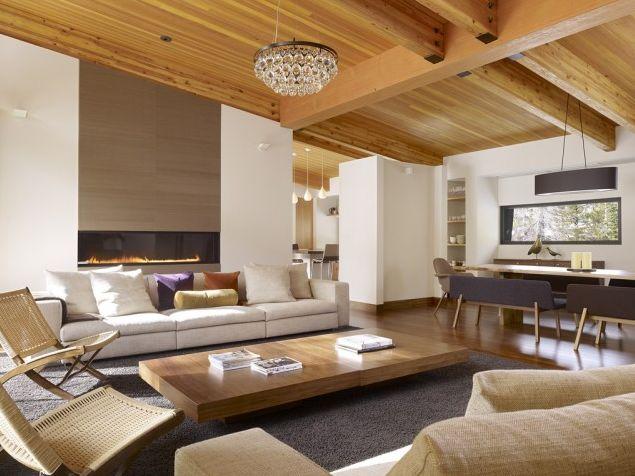 modern skil lodge living room 2