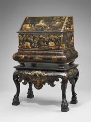 Desk-on-stand, 18th century, Jose Manuel de la Cerda (Mexican), Hispanic Society of America