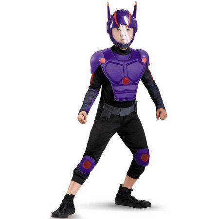 Big Hero 6 Hiro Deluxe Toddler Halloween Costume, 3T-4T, Toddler Boy's, Size: 3-4T, Multicolor