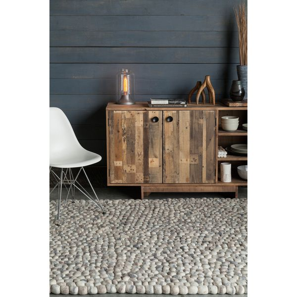 handwoven mandara thick wool balls rug overstock shopping great deals on