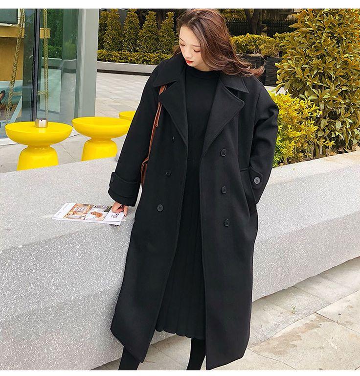 Купить Женская одежда осень зима 2019 средней…
