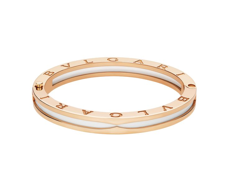 bvlgari bzero1 rose gold diamond bracelet