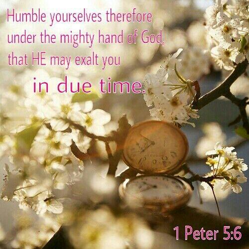 1 Peter 5:6, Bible, verse, KJV