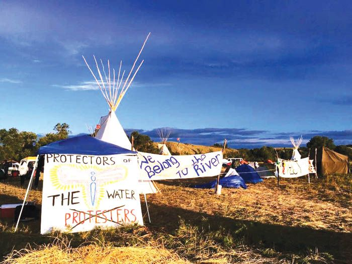 Tribal government, grassroots activists and their allies in the struggle to…