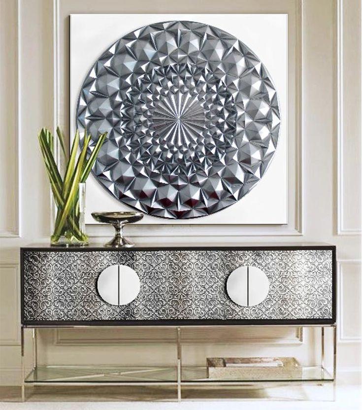 cuadros modernos decorativos cuadros originales de estilo zen mandalas diamantes en oro o plata