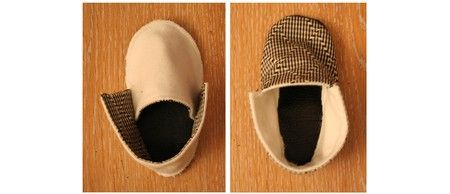 How to make really cute baby shoes...