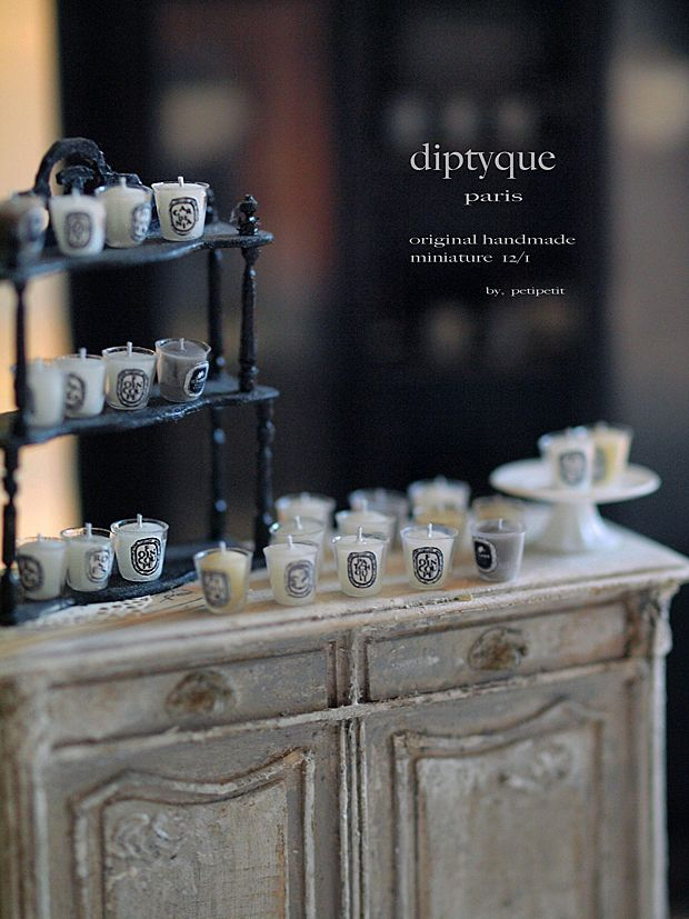 miniature* キャンドル と、学校公開。 : natural色の生活~handmade家具
