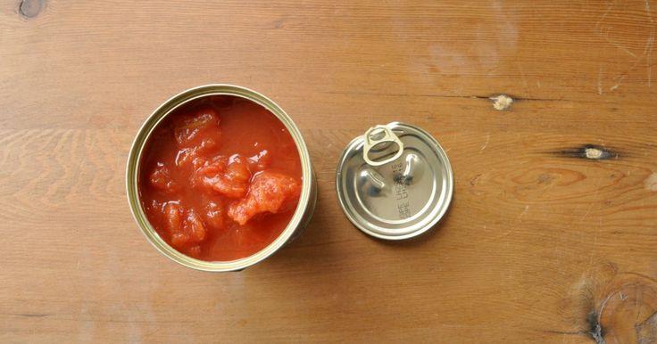 10 trucs à faire avec une simple boite de tomates pelées - 9 photos