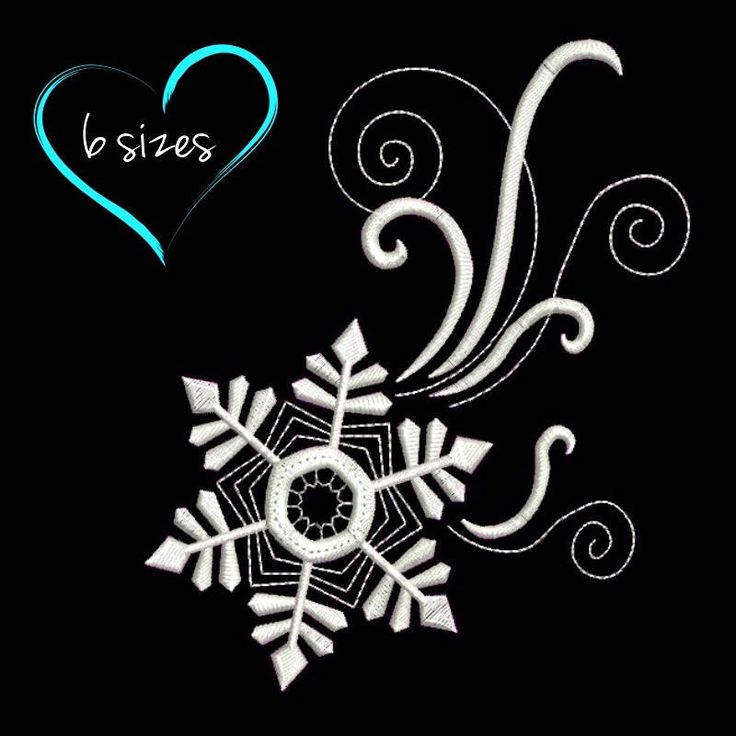 Snowflake machine embroidery design Christmas designs winter pattern instant digital download pes file towel by SvgEmbroideryDesign on Etsy