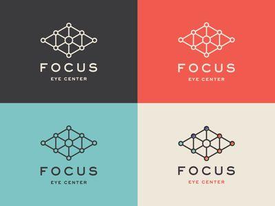 Focus Logo by Tavish Calico  Check out more of Tavish's work on Dribbble: https://dribbble.com/tavcalico