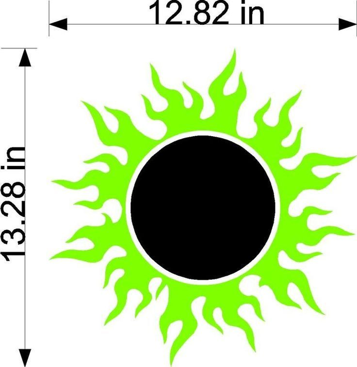 Sun Flames Cornhole Board Decals Stickers Circle And Lines Hd04 Cornhole Board Decals Cornhole Decals Cornhole Boards