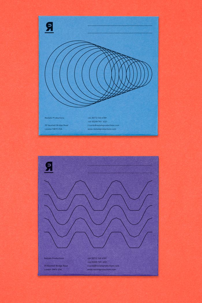 Logo and visual identity design by Karol Bednarczyk for a music production and audio services studio based in London. http://www.karolbednarczyk.com/
