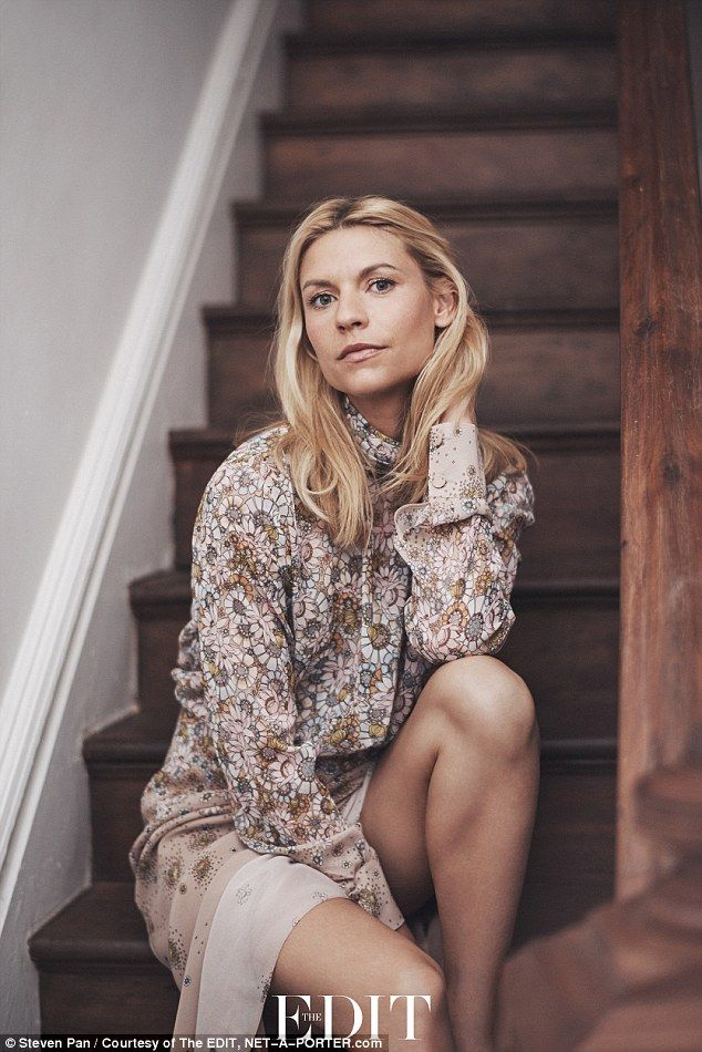 Keeps her sane: Claire Danes, 36, has opened up about her six-year marriage to British actor Hugh Dancy, 40, in a new interview for NET-A-PORTER.com's digital fashion magazine THE EDIT