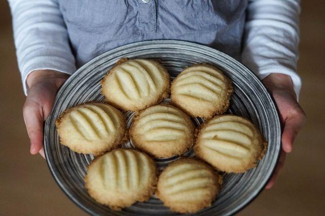 gotować! - Piaskowe ciasteczka waniliowe
