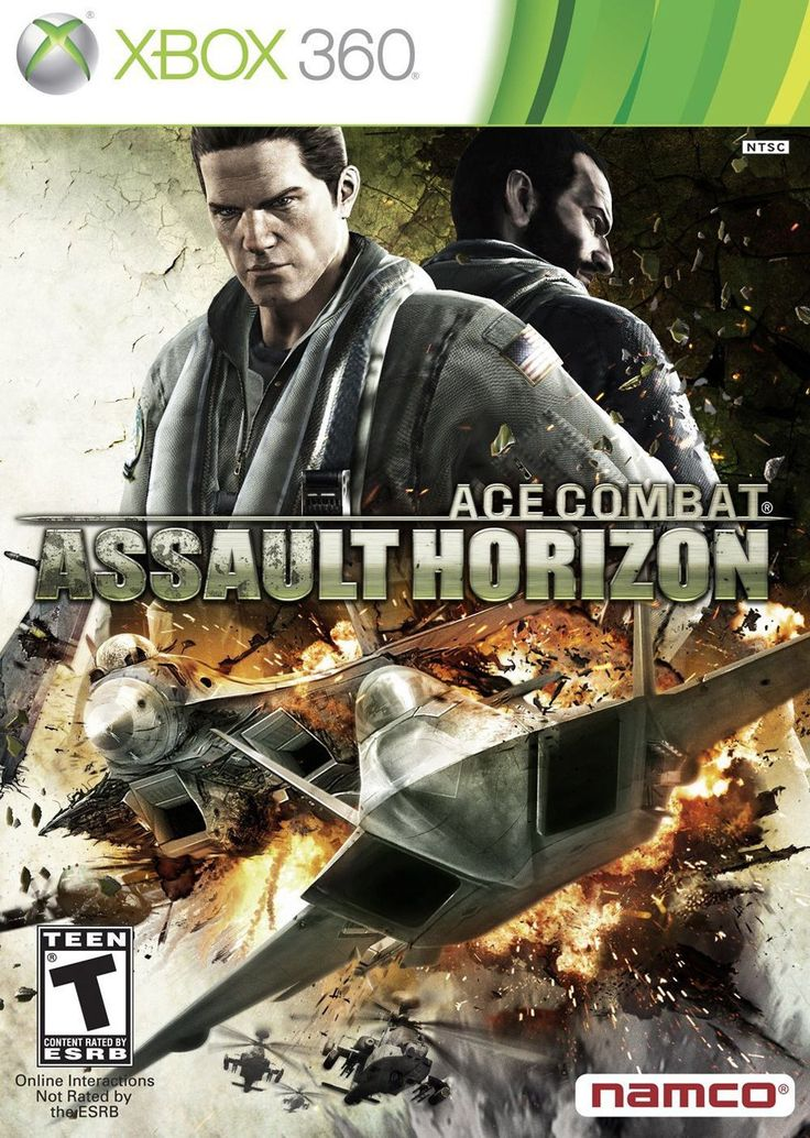 Ace Combat: Assault Horizon (Microsoft Xbox 360, 2011)