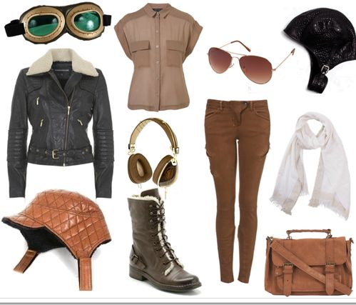 halloween costume ideas. the picture is my favorite, it's the aviator idea!