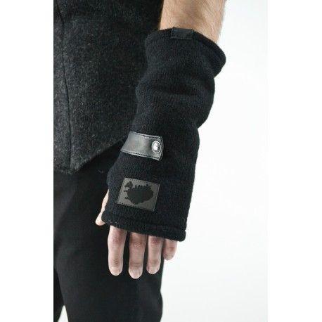 wełniane rękawiczki Reykjavik District - woolen gloves - polscy projektanci / polish fashion designers - ELSKA