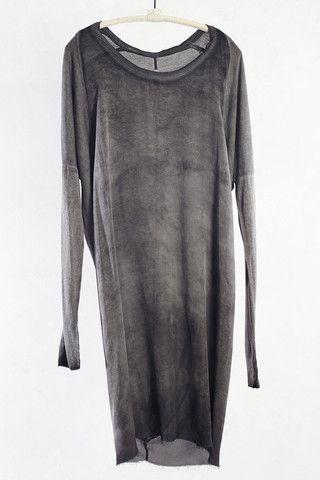 Dark Wash Raglan Dress by Raquel Allegra | shopheist.com
