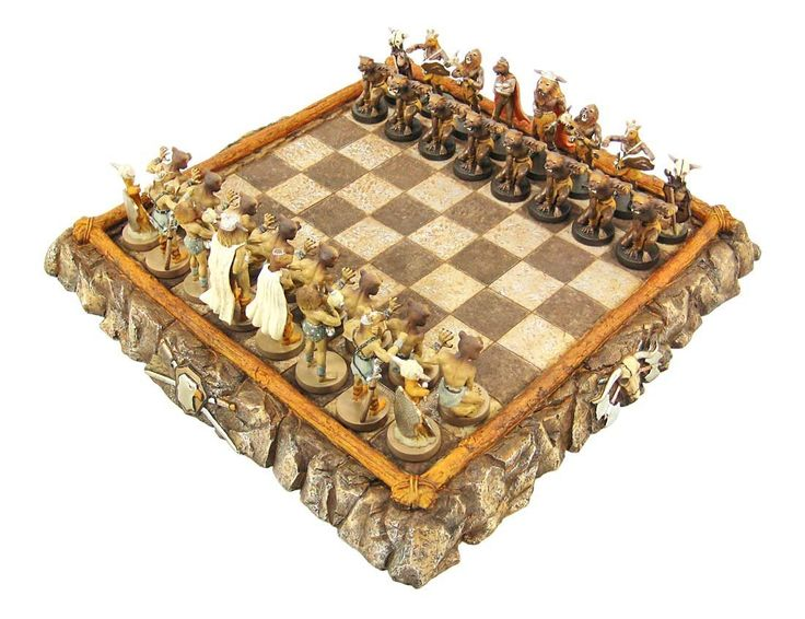 Best Themed Chess Sets Chess Chess Sets And Star Trek Chess