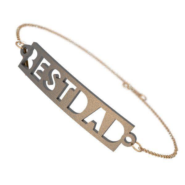Zazzy Best Dad Bracelet