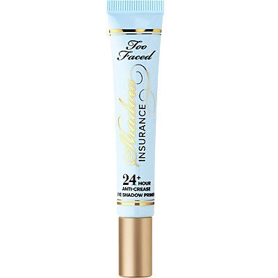 Too Faced Shadow Insurance Anti-Crease Eyeshadow Primer. LOVE! Kept my greasy lids crease-free for hours.