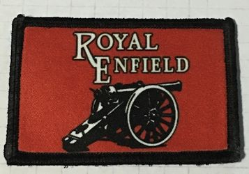 Royal Enfield Morale Patch Royal Enfield, Patch, Motorchycle, Motorcycles, Velcro, Redcoat, Martini Henry, Lee Enfield, Boer War, Zulu, Morale Patch