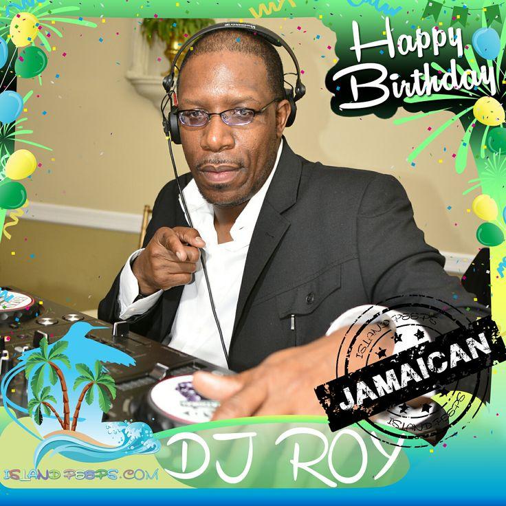 Happy Birthday DJ Roy!!! Radio personality & sound system selector born in Jamaica!!! Today we celebrate you!!! @djroyiriejam #islandpeeps #islandpeepsbirthdays #roadintl #iriejam #iriejamradio #soundsystem #clarendon [photo cred: @nitelifebuzz]