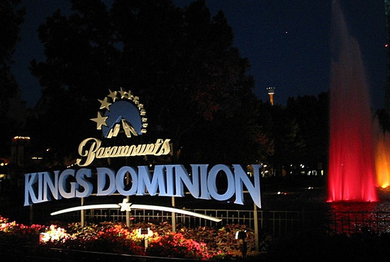 About Paramount's Kings Dominion Store A acre theme park near Richmond, Virginia featuring numerous roller coasters, thrill rides, water rides, Nickelodeon-themed rides and activities for all ages.