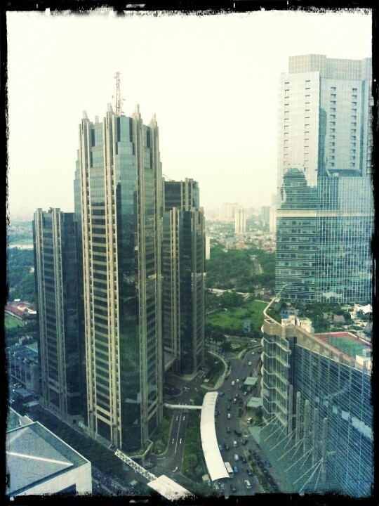 View from Sampoerna Strategic Square