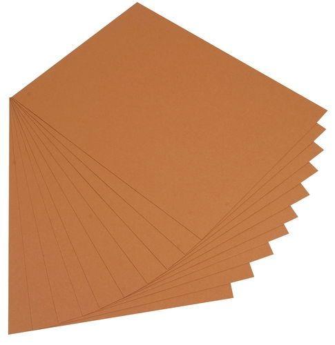 Kreatívne materiály / Farebné papiere | Farebné kartóny | Farebný kartón, 50 x 70 cm, 10 ks, hnedá