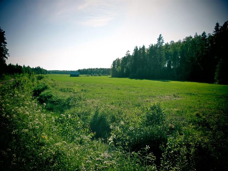 Aah…  värit, lämpö, vehreys, tuoksut, luonnonäänet… kiitos! SoulSistersit testaamassa Tiekirkkojen fillarikierroksen 14.-26.6.2012
