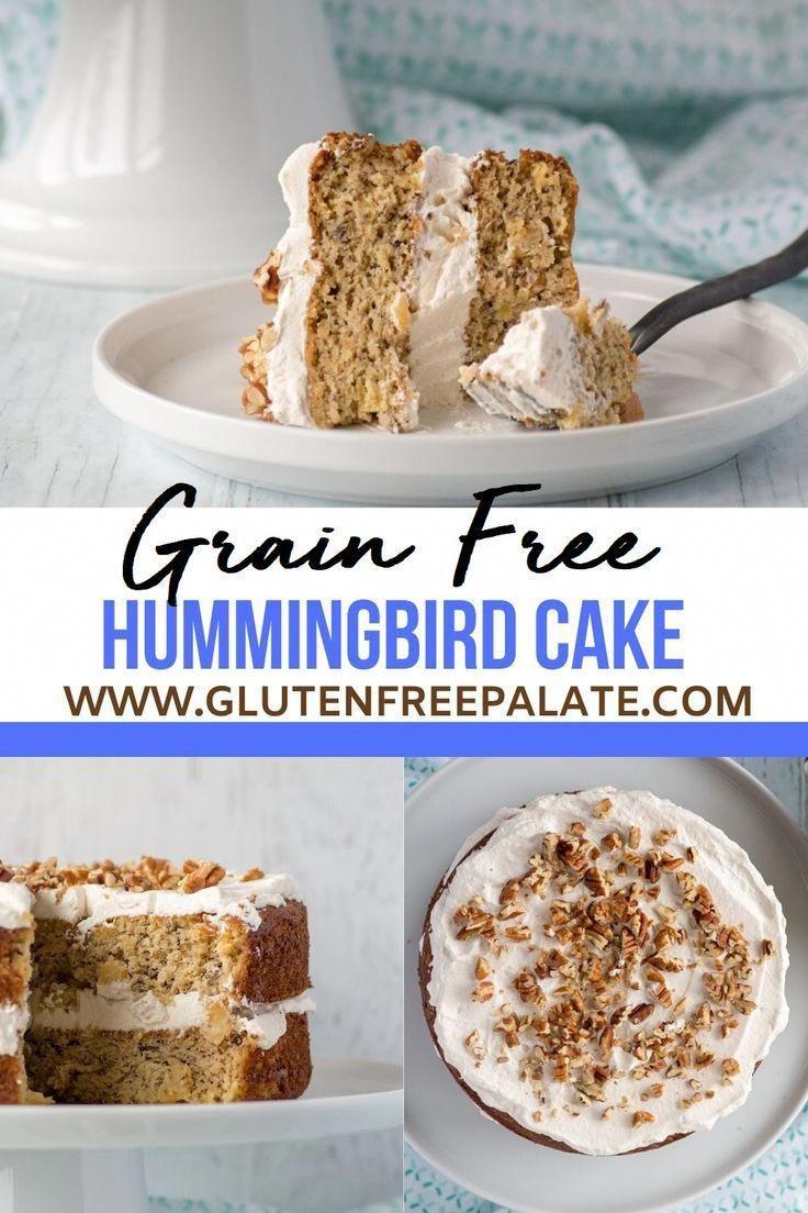 Easy paleo hummingbird cake in 2020 hummingbird cake