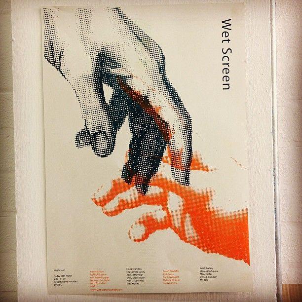 www.wet-screen.tumblr.com #risograph #risomatic  (at Manchester School Of Arts)